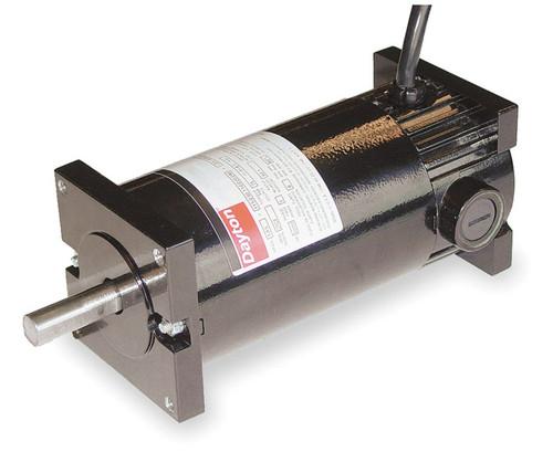 DC TENV Motor 1/6 HP 1800/4200 RPM 12/24VDC Dayton Model 4Z529