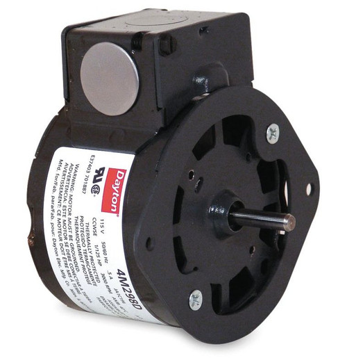 "1/125 hp, 3000 RPM, 115 Volt, 3.3"" diameter Dayton Electric Motor Model 4M298"