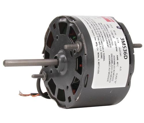 "1/100 hp, 1550 RPM, 115 Volt, 3.3"" diameter Dayton Electric Motor Model 3M536"