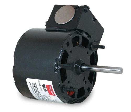 "1/40 hp, 1550 RPM, 115 Volt, 3.3"" diameter Dayton Electric Motor Model 3M722"