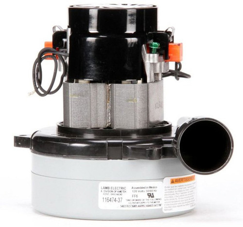Ametek Lamb Vacuum Blower / Motor 120V 116474-37