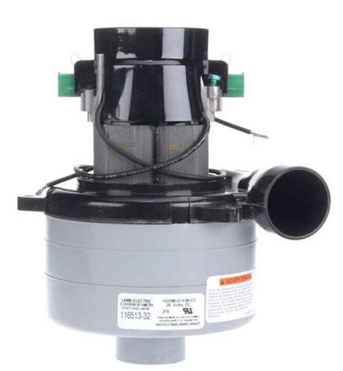 116513-32 Ametek Lamb Vacuum Blower / Motor 36V DC (Tennant 626200)