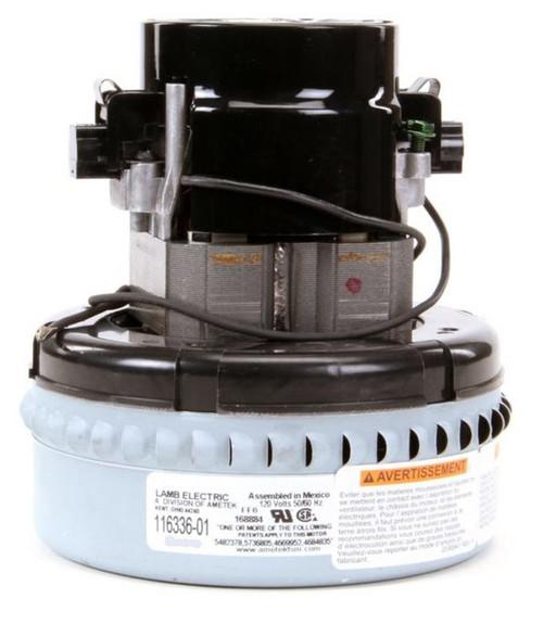 116336-01 Ametek Lamb Vacuum Blower Motor 120V Advance 56207802 Clarke 44903A Tornado 14800