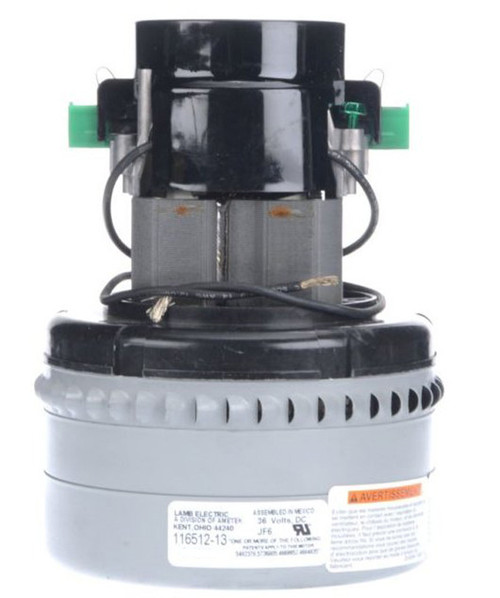 116512-13 Ametek Lamb Vacuum Blower / Motor 36V DC Advance 56377470 Clarke 45019A Tennant 130413