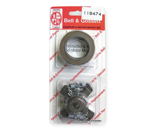 "118474 Bell & Gossett Coupler Assembly Size: 1/2"" x 1/2"" with Motor Mount Rings"