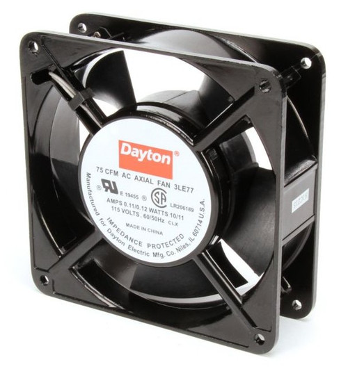 3LE77 Dayton Axial Fan 115 Volts AC; 10 Watts; 75 CFM;