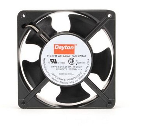 4WT46 Dayton Axial Fan 115 Volts AC; 20 Watts; 115 CFM;
