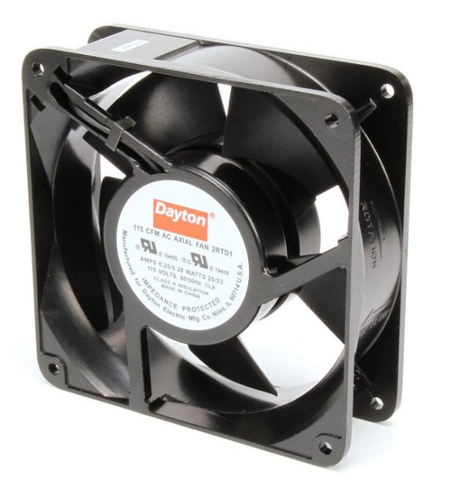 2RTD1 Dayton Axial Fan 115 Volts AC; 20 Watts; 115 CFM;