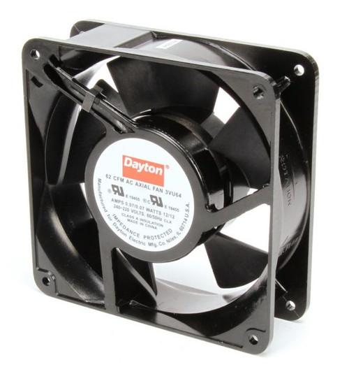 3VU64 Dayton Axial Fan 230 Volts AC; 10.5 Watts; 62 CFM;