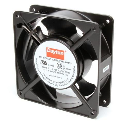 4WT33 Dayton Axial Fan 230 Volts AC; 19 Watts; 105 CFM;