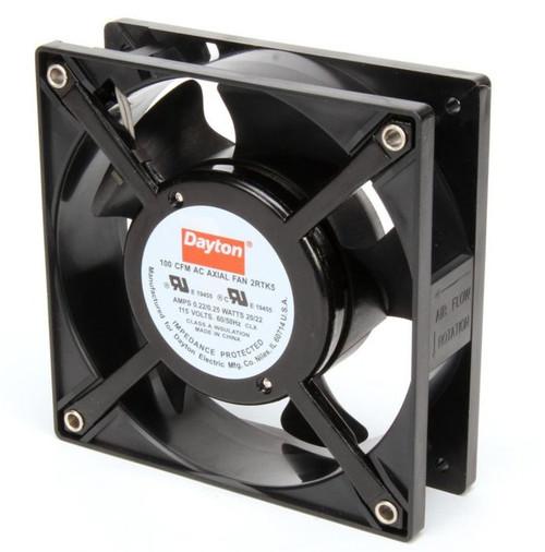 2RTK5 Dayton Axial Fan 115 Volts AC; 20 Watts; 100 CFM;