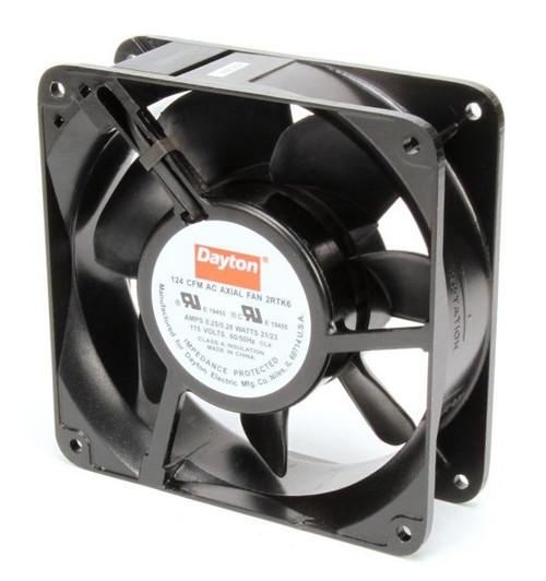 2RTK6 Dayton Axial Fan 115 Volts AC; 21 Watts; 124 CFM;