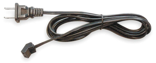 "3RP14 Dayton AC Axial Fan Cord Set 36"" Length, 45° Head, 115V; 2-Prong Plug"