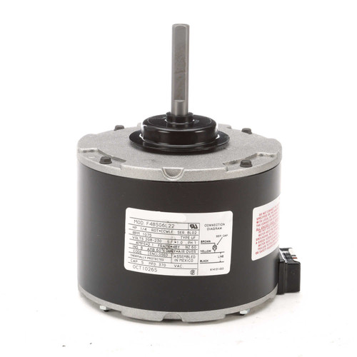 OCT1026S Century Carrier Electric Motor 1/4 hp, 1075 RPM, 2.1 amps, 230 Volts TENV Century # OCT1026S