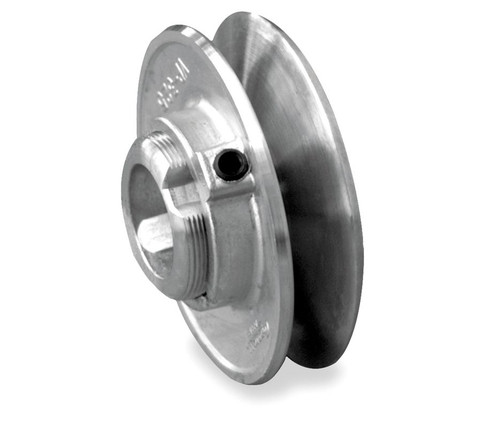 "3.50"" x 1/2"" Single Groove Fixed Bore Variable Pitch Die Cast Pulley"