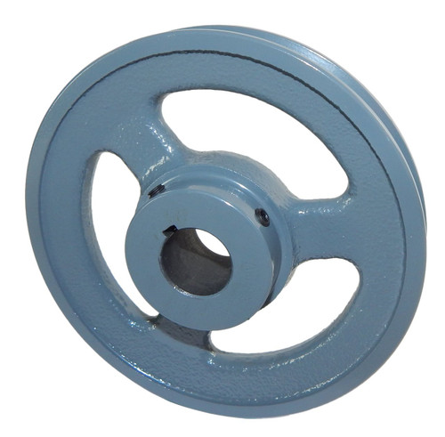 "AK54X1/2 Pulley | 5.25"" X 1/2"" Single Groove Fixed Bore ""A"" Pulley"