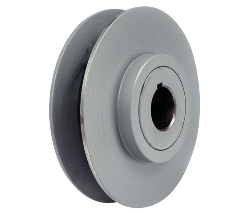 "1VP34X1/2 Pulley | 3.15"" x 1/2"" Vari-Speed 1 Groove Pulley / Sheave"