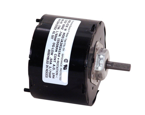 Model 597 Century Replacement Vent Motor (999765, 998810) 1/60 HP, 1550 RPM, 115 Volts Century # 597