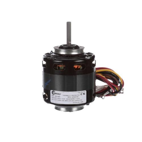 Lennox Furnace Motor (P-8-9585) 1/12 hp 1050/875 RPM, 208-230V Century # 9485