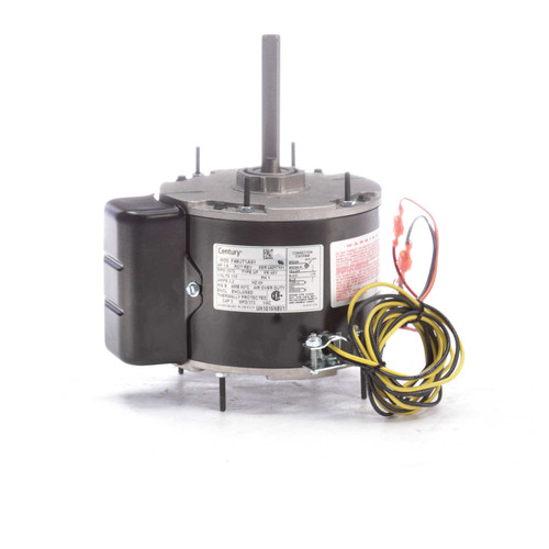 UH1016NBV1 Century Unit Heater Motor 1/6 hp, 1075 RPM, 115 volts Century # UH1016NBV1