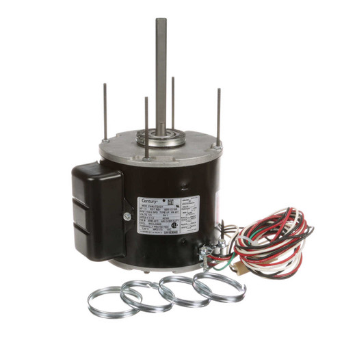 UH1036NB Century Unit Heater Motor 1/3 hp, 1100 RPM, 2-Speed,115V Century # UH1036NB