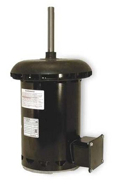 "Condenser Fan Motor 5 5/8"" Dia, .6 hp, 1075 RPM 200-230/460V Single Phase Century # FC1066F"