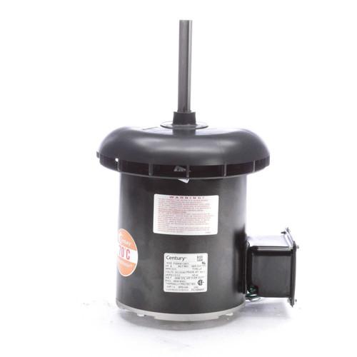 "Condenser Fan Motor 5 5/8"" Dia .6 hp, 1075 RPM 200-230/460V Single Phase Century # FC1066A"