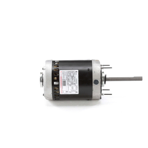 "Condenser Fan Motor 6 1/2"" Dia, 3/4 hp 1075 RPM 200-230/460V Single Phase Century # C661V1"