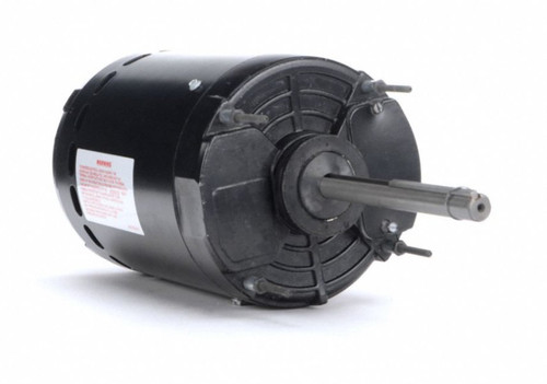 "Condenser Fan Motor 6 1/2"" Dia, 1 hp 1075 RPM 200-230/460V Single Phase Century FY1106V1"