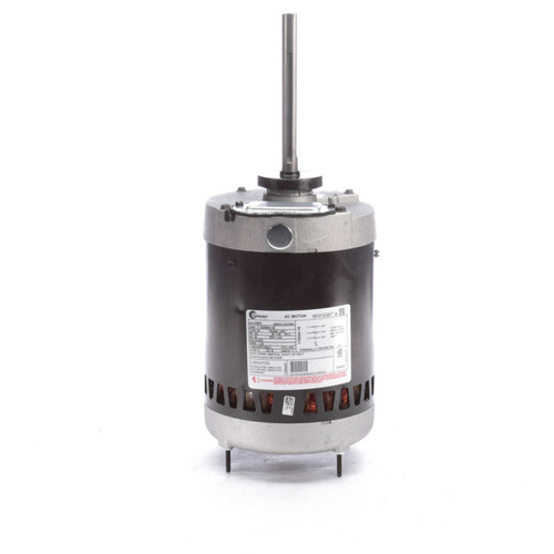 "H961 Century Condenser Fan Motor 6 1/2"" Dia, 3/4 hp, 1140 RPM 575V Three Phase Century # H961"