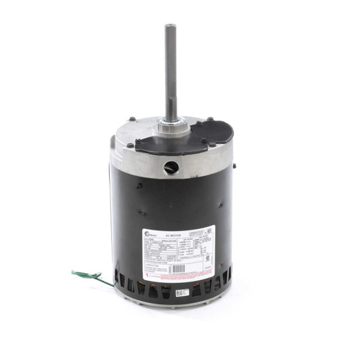 "Condenser Fan Motor 6 1/2"" Dia, 1 hp, 850 RPM 460/200-230V Three Phase Century # H686"