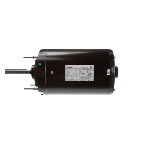 "FY3106 Century Condenser Fan Motor 6 1/2"" Dia, 1 hp, 1140 RPM 460/200-230V Three Phase Century # FY3106"