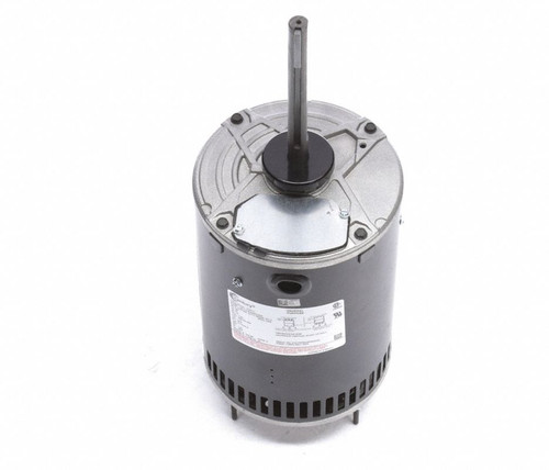 "Condenser Fan Motor 6 1/2"" Dia, 1.5 hp, 1140 RPM 460/200-230V Three Phase Century # H767V1"