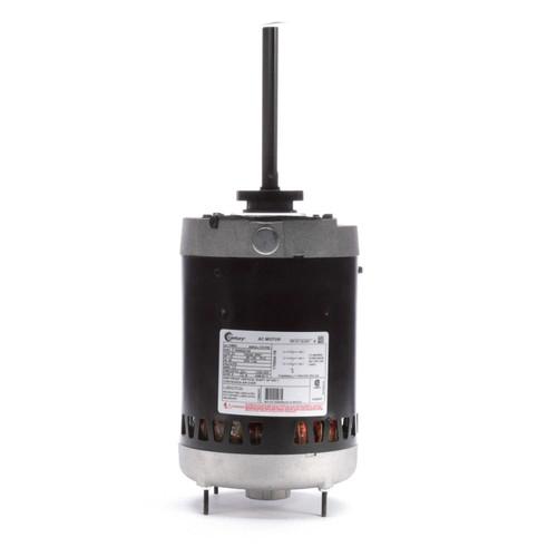 "Condenser Fan Motor 6 1/2"" Dia, 1.5 hp, 1140 RPM 575V Three Phase Century # H963"