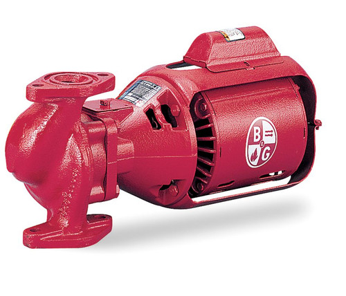 Bell & Gossett Circulating Pump Series 100 Model HV NFI 1/6 hp 115V