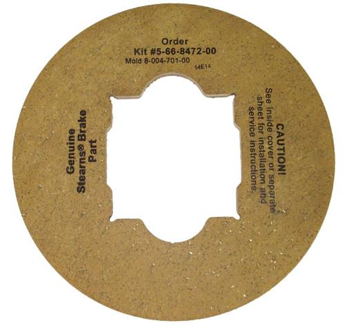 566847200 Stearns Brake Friction Disc (8-004-701-00)  # 5-66-8472-00