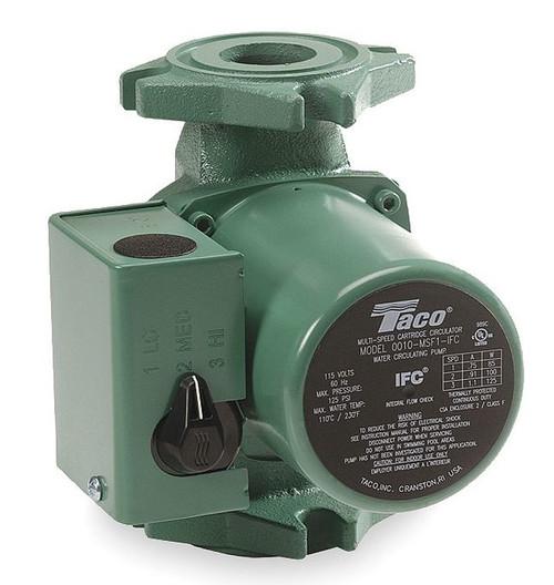 Taco Hot Water Circulator Pump 3-Speed Model 0010-MSF1-1iFC 115V