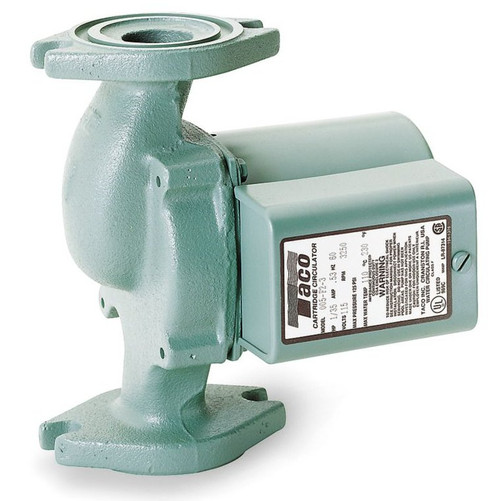 Taco Hot Water Circulator Pump Model 005-F2-3; 115V