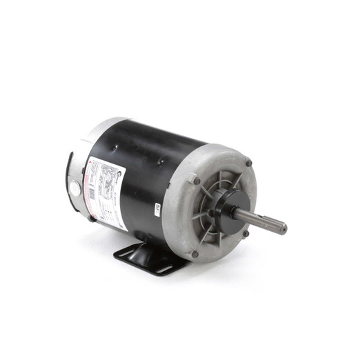 H964 Century Condenser Fan Motor Three Phase - Rigid Base 1 hp, 1140 RPM, 575 volts Century # H964