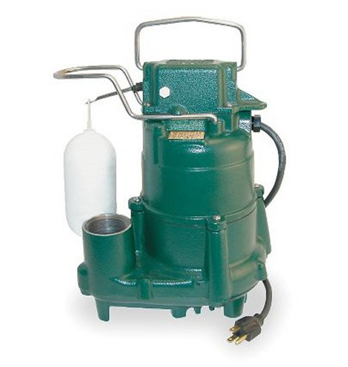 ZOELLER Sump Pump 1/2 hp 115V Model # M98