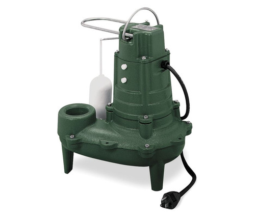 ZOELLER Sewage Pump 1/2 hp 115V Model # M267