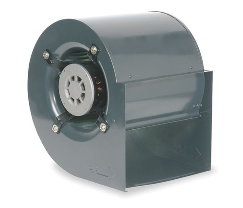 Dayton 1XJY4 1 hp 1097 RPM 208-230V Furnace Blower with Housing Assembly & Motor