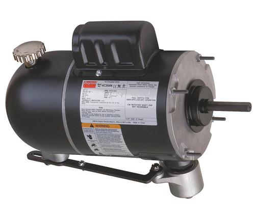 Oscillating Pedestal Fan Motor 2-Speed Motor 1/4hp 1075 RPM 115V # 4C354