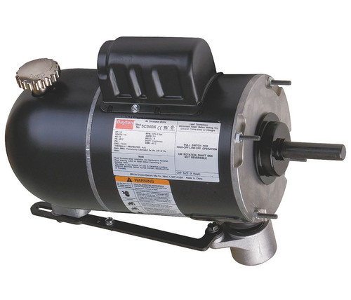 5C040 Dayton Oscillating Pedestal Fan Motor 2-Speed Motor 1/2hp 1075 RPM 115V