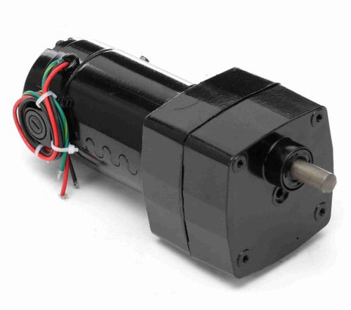 M1125036.00 Leeson |   Parallel Shaft 1/17 hp, 60 RPM 180 Volts DC TENV Electric Gear Motor