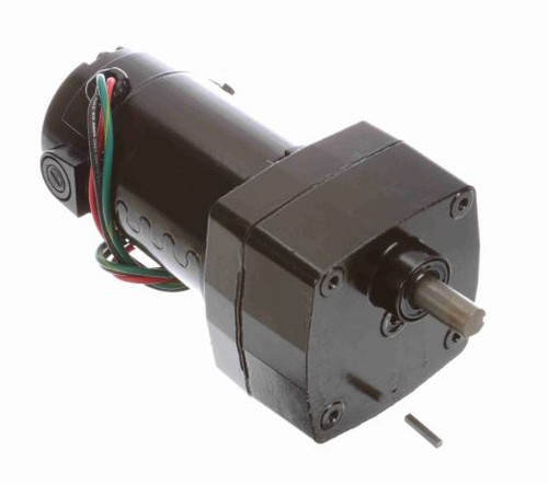 Leeson Parallel Shaft 1/20 hp, 10 RPM 12VDC TENV Electric Gear Motor # M1125213