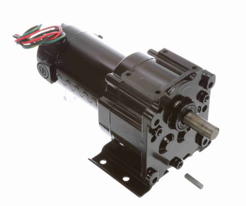 M1115026.00 Leeson |   Parallel Shaft 1/20 hp, 18 RPM 90 Volts DC TENV Electric Gear Motor