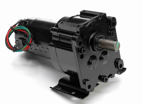 M1115028.00 Leeson |   Parallel Shaft 1/20 hp, 51 RPM 90 Volts DC TENV Electric Gear Motor