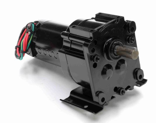 M1125217.00 Leeson |   Parallel Shaft 1/20 hp, 5 RPM 12VDC Electric Gear Motor