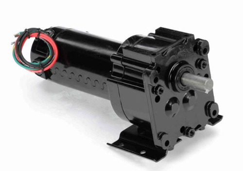 M1125218.00 Leeson |   Parallel Shaft 1/8 hp, 31 RPM 12VDC Electric Gear Motor